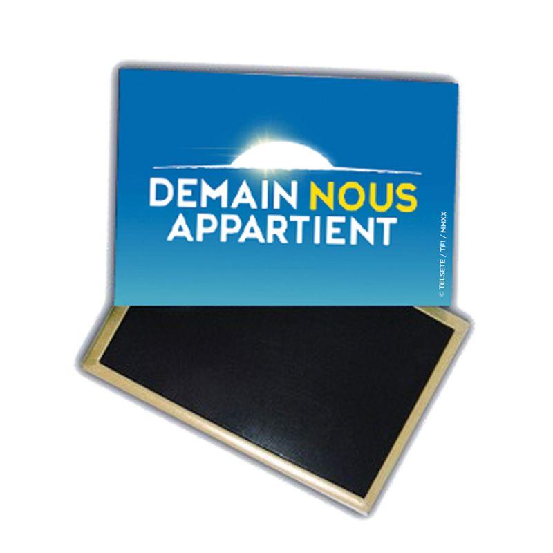 Magnet DNA Logo Fond Bleu