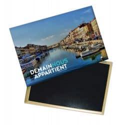Magnet Logo Demain nous Appartient Photo Port de Sete de jour