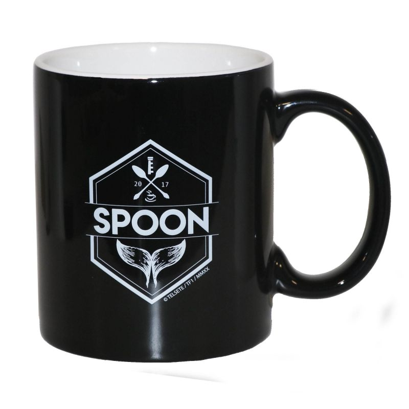 Mug Spoon Noir